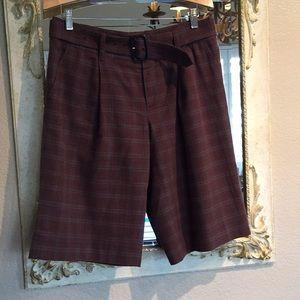 Marc by Marc Jacobs plaid flannel city shorts.Sz 8